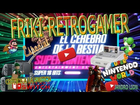 Super Geek-Retrogamer Super Nintendo,