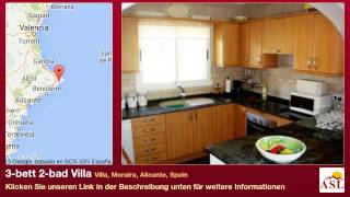 3-bett 2-bad Villa zu verkaufen in Villa, Moraira, Alicante, Spain