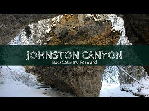 Johnston Canyon Banff Hike - Winter Wonderland (2018) | Backcountry Forward