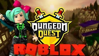 * Dungeon Quest * Roblox LIVE com SallyGreenGamer