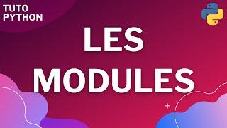 Miniature catégorie - Les modules avec Python