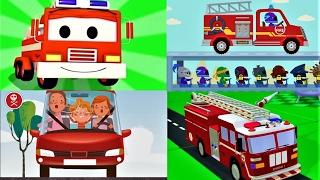 Мультики про #Машинки все серии подряд🚒. #Развивающие мультики для Детей. МАШИНЫ ПОМОЩНИКИ. Сборник