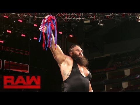 Braun Strowman vs. Americo: Raw, Aug. 29, 2016