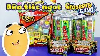 Bữa tiệc ngọt Grossery Gang, Sticky Soda, Corny Chips, Crusty Chocolate Bars - ToyStation 36