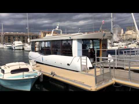 Solar Electric Boat in Marseille