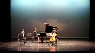 Hommage to Alphonse Duadet - So hyun Kim (piano,cello,flute trio)2