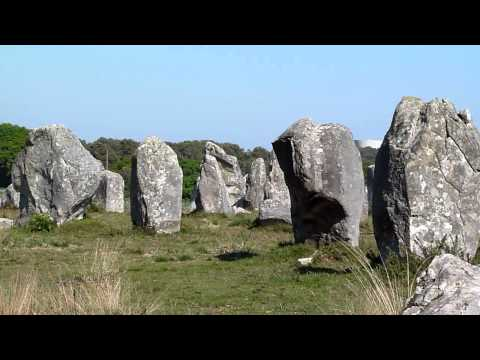 Carnac stones Brittany France