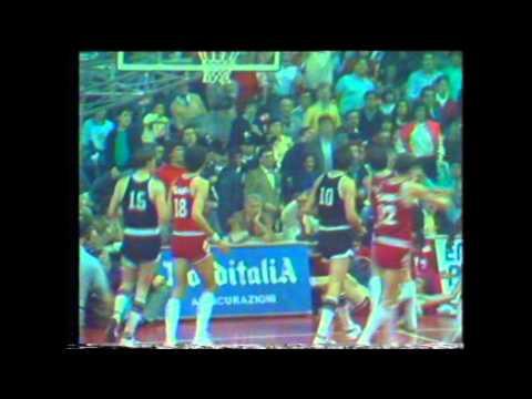 Simac Milano – Granarolo Bologna Finale Gara3 1984