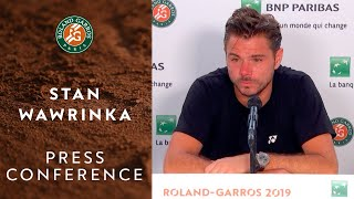Stan Wawrinka - Press Conference after Quarterfinals | Roland-Garros 2019