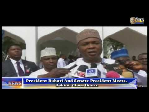President Buhari Meets With senate President, Signs Endangered Species Act