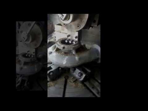 Processing high chromium cast iron parts with BN-K1 Soid CBN insert