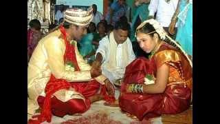 ramesh weds soujanya marriege on 26th april 2012 at NMR Garden,JANGAON
