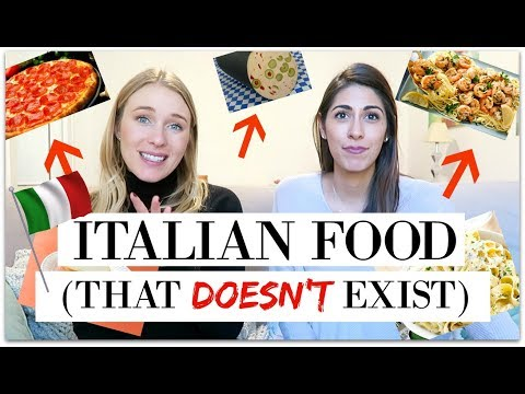 """10 """"ITALIAN"""" FOODS THAT DON'T EXIST IN ITALY!"""