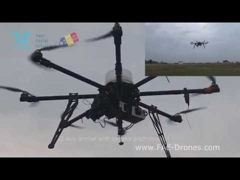 30 minute flight Octa 1115 drone with 1800g payload