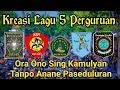 KREASI !!! Lagu 5 Perguruan paling terkenal | Madiun kampung pesilat Indonesia |