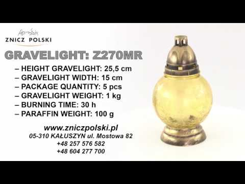 Glass candle in the shape of a frozen sphere R270MR wholesale gravelights
