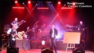 Real Dream Genesis tribute band Carpet Crawlers HQ Teatro ...