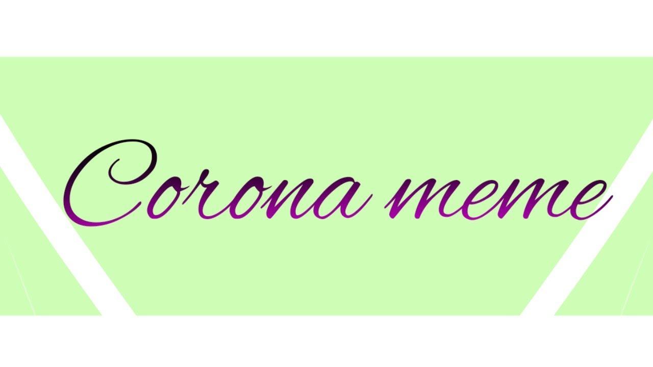 Corona  meme gacha Life - YouTube