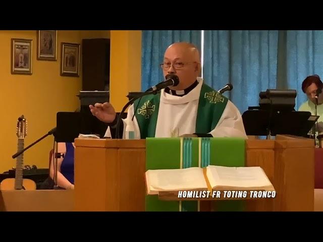 Gospel Acclamation Twenty- Fourth Sunday OT B