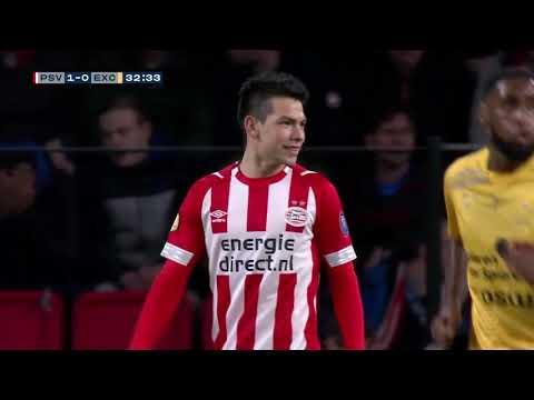 Hirving Chucky Lozano vs Excelsior | HD 720p | Eredivisie | 07/12/18