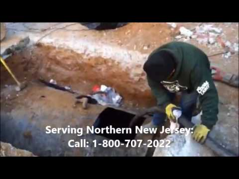 NJ Oil Tank Experts Vacuuming Sludge Waste From 1000 Gallon UST