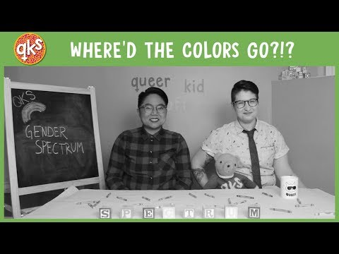 What's a SPECTRUM?!? (ft. AC Dumlao aka Call Me They) - Gender: QUEER KID STUFF #38