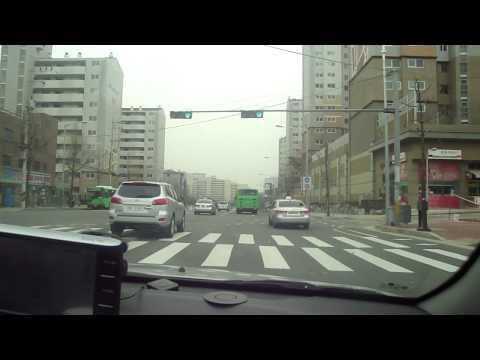 Taxi Ride in Seoul