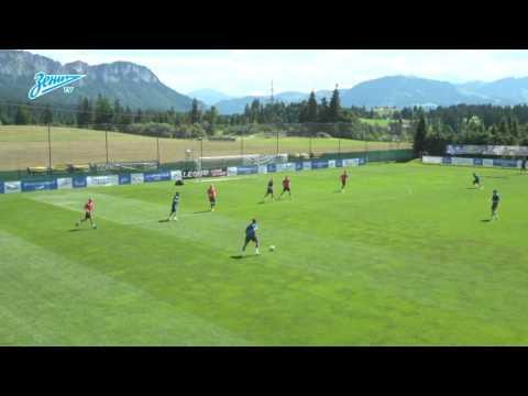 Roberto Mancini (FK Zenit) - 'Defensive Line Work'