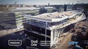 Helsingin Keskustakirjasto Oodi YIT