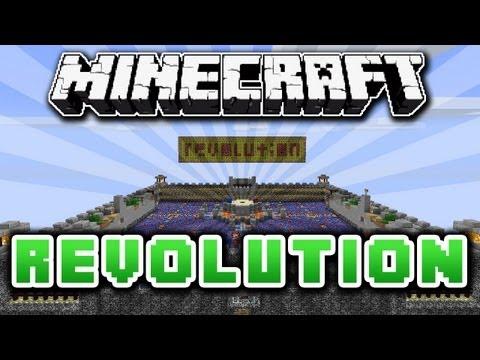 Minecraft REVOLUTION - PVP Map + Gameplay!