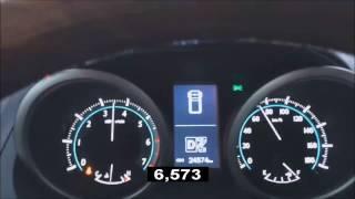Toyota Land Cruiser Prado 150 2.7i 163 Hp 0-100 km/h acceleration/разгон (12 sec)
