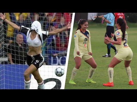 Как жените във футбола празнуват головете