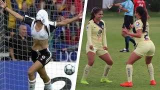 Crazy Goal Celebrations in WOMENs Football