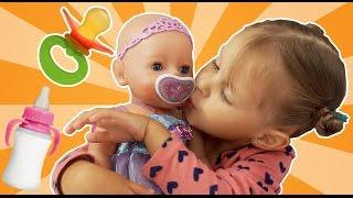 Кукла БЕБИ БОРН ФЕЕЧКА Обзор Куклы Doll Baby Born Феечка Как настоящий ребенок Видео для девочек