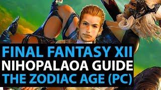 Final Fantasy 12 The Zodiac Age PC Live Stream! Full Nihopalaoa Guide - Part 33