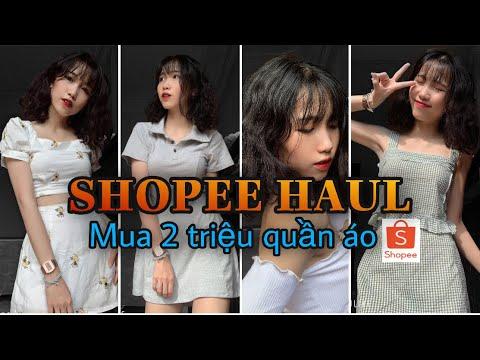SHOPEE HAUL| Tiêu 2 Triệu Mua Quần Áo Trên Shopee? Minh Ngọc