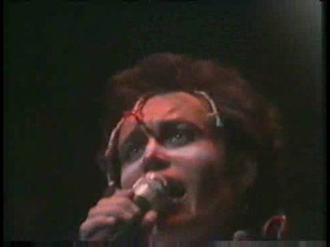 Adam & The Ants, Mowhok, live