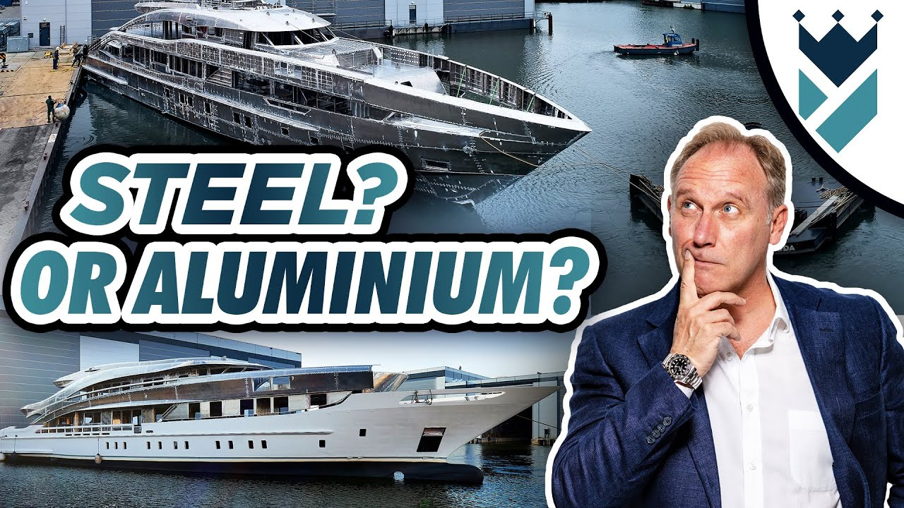 STEEL HULLED AND ALUMINIUM HULLED HEESEN SUPERYACHTS - BUT WHY???