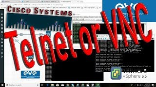 How to change console telnet to vnc  in eve-ng & Emulated Virtual Environment
