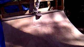 3TC- William Coley halfpipe session
