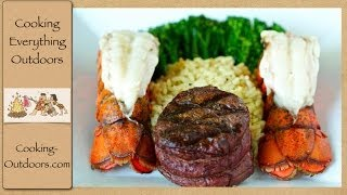 How to Grill Surf and Turf