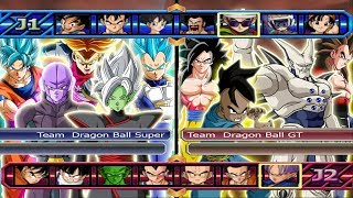 Team Dragon Ball Super VS Team Dragon Ball GT - Dragon Ball Z Budokai Tenkaichi 4