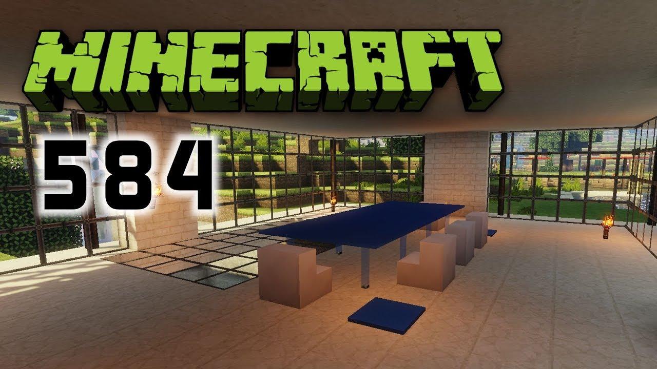 Minecraft 584 Wohnzimmertisch Uber Der Schlucht Let S Play