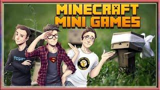 MINECRAFT MINIGAMES : NASCONDINO CON IL TRIO!! w/SurrealPower & Vegas