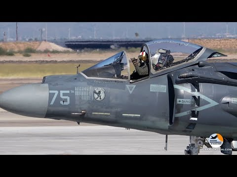 AV-8B Harriers | VMA-223 Bulldogs | US Marines | Phoenix Mesa Gateway Airport