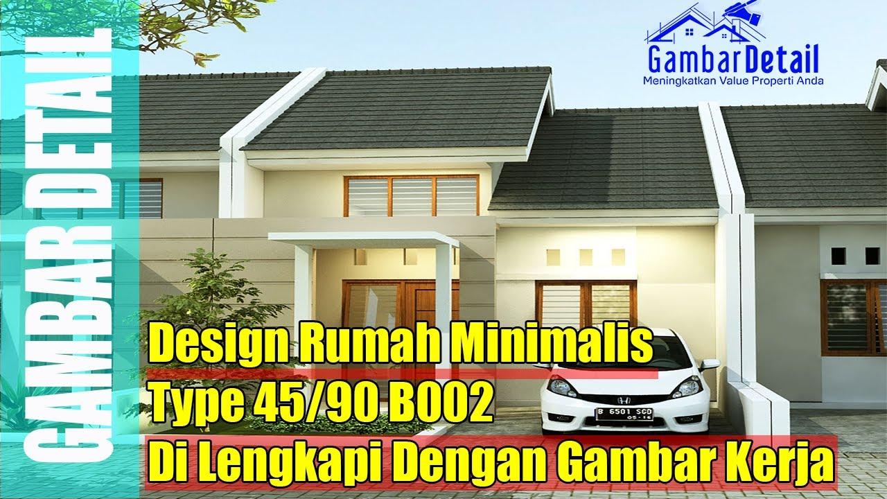 Gambar Rumah Minimalis Type 45 90 Arsitek L Desain Interior L Gambar