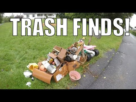 LOOK WHAT I FOUND IN THE TRASH THIS WEEK - Garbage Picking Ep. 83