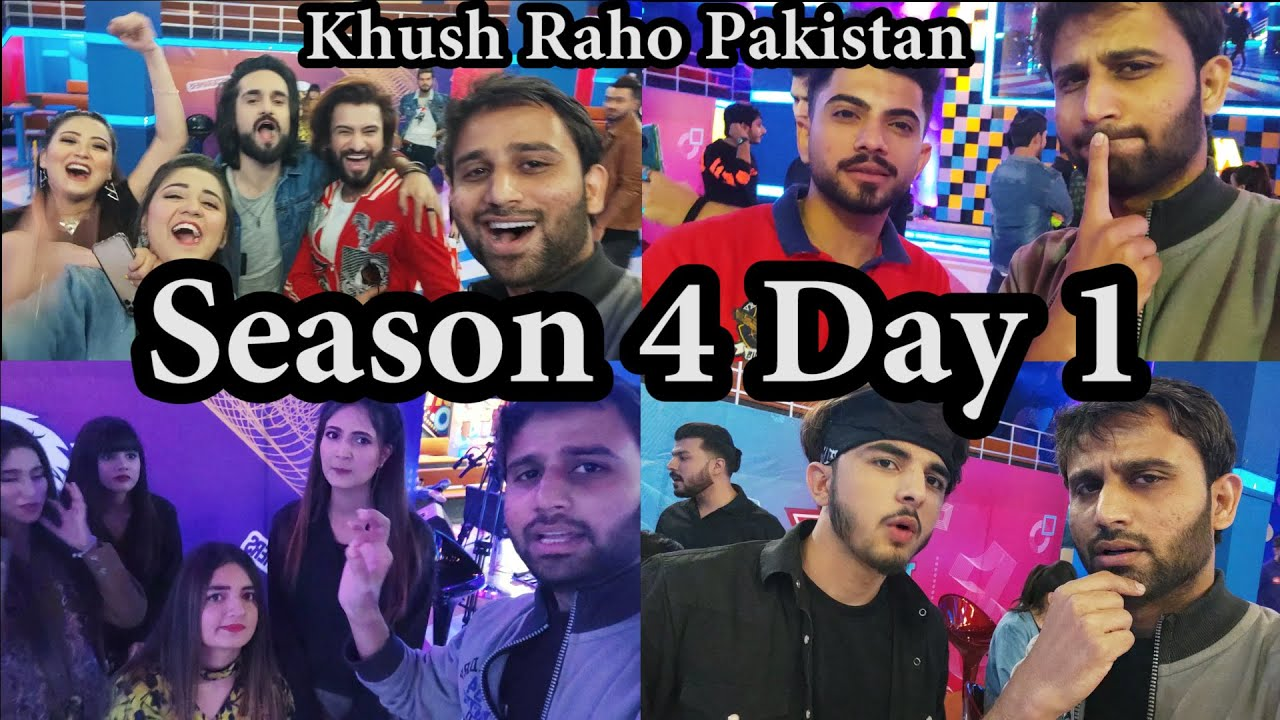 Khush Raho Pakistan   Season 4 Day 1   Instagramers Vs