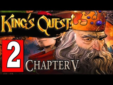 Kings Quest Chapter 5 Walkthrough Part 2 MUSIC BOX MEMORY UNLOCK DOOR / ICE LABRYRINTH PUZZLE