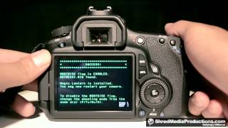 Disable Magic Lantern Boot Flag with the Eye Fi Card on Canon t2i 60D 5D